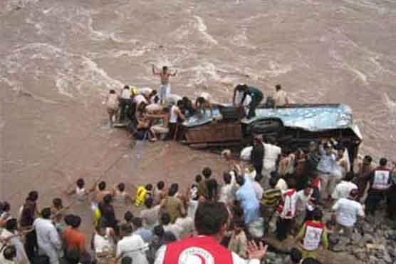 Muzaffarabad: 8 killed, 5 injured as jeep falls into river