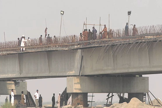 Bridge construction over Indus River faces delay after ban on Houbara bustard hunting