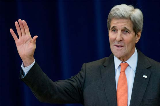 Kerry in Abu Dhabi for talks on Syria peace plan