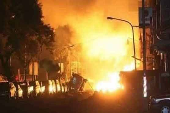 Taliban truck bomb strikes hotel for foreigners in Kabul