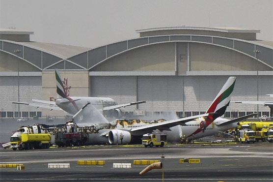 Dubai airport scraps over 200 flights after Emirates crash