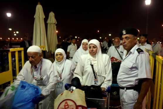 In Egypt, ecstatic pilgrims start journey to Makkah