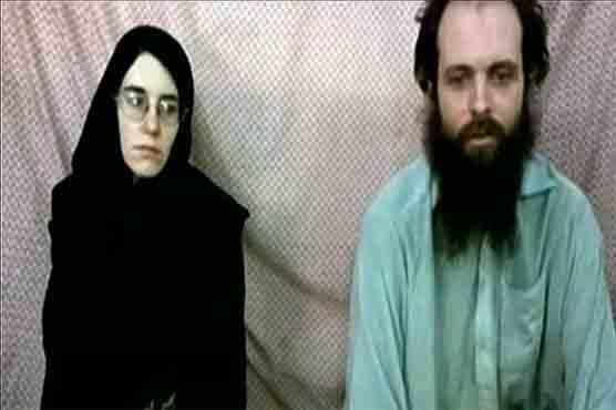 North American couple appears in new Taliban hostage video