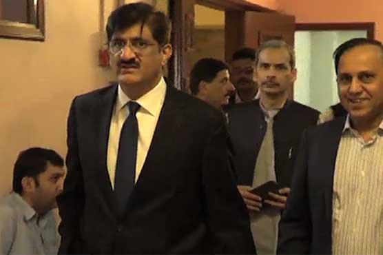 Murad Ali Shah pays surprise visit to Sindh secretariat