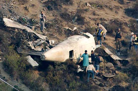 French, Canadian experts visit PK-661 crash site in Havelian