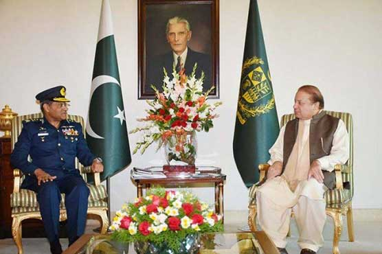 Air Chief meets PM, discusses PAF's professional matters