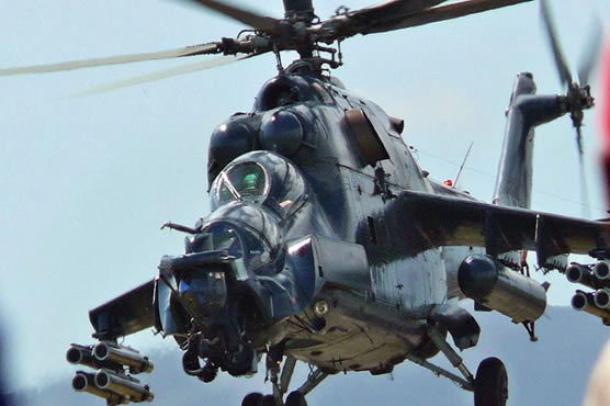 Pakistan to get four MI-35 helicopters from Russia in 2017: Rana Tanveer