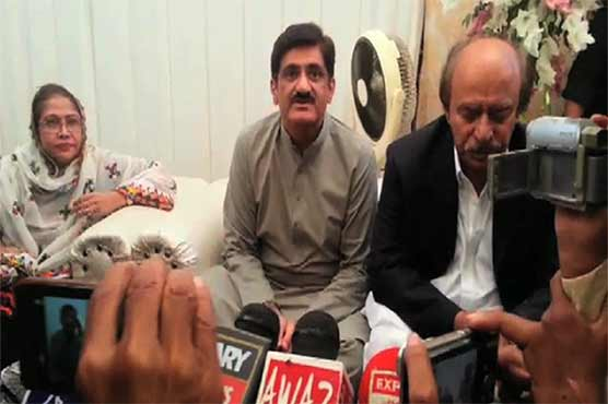 Nisar shouldn't dictate over appointment of IGP: Sindh CM