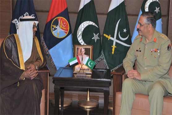 General Zubair meets UAE ambassador