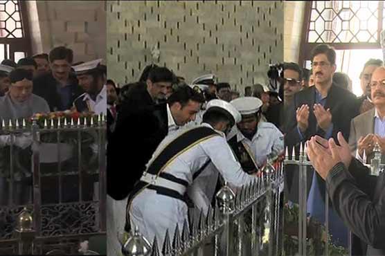 Sindh CM visits Mazar-e-Quaid thrice on same day