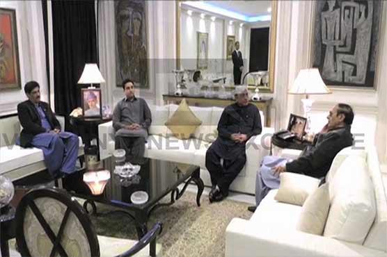 Zardari meets Shujaat, agreement on grand alliance of opposition