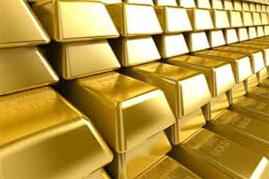 Gold price rises by Rs 550 per tola