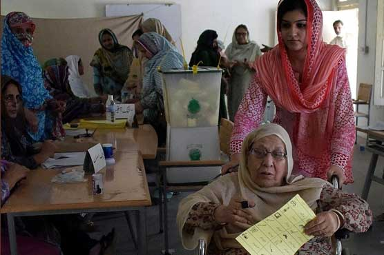 Polling for Azad Kashmir elections underway - Pakistan - Dunya News