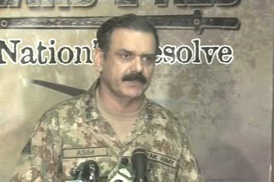 Situation would be different had Afghanistan neutralised those fleeing Zarb-e-Azb: DG ISPR