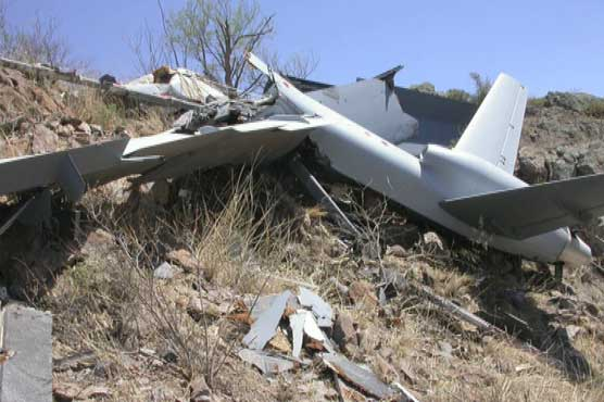 PAF's unmanned aircraft crashes near Mianwali