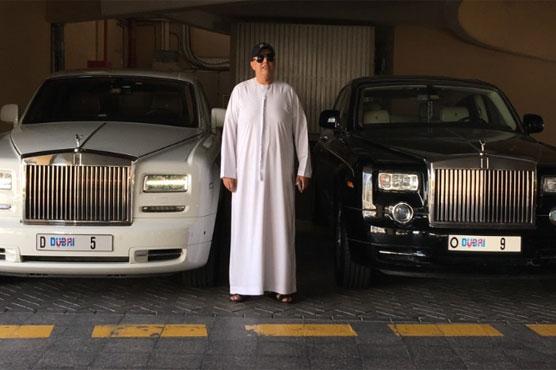 Dubai-based Indian man spends $9 million on license plate