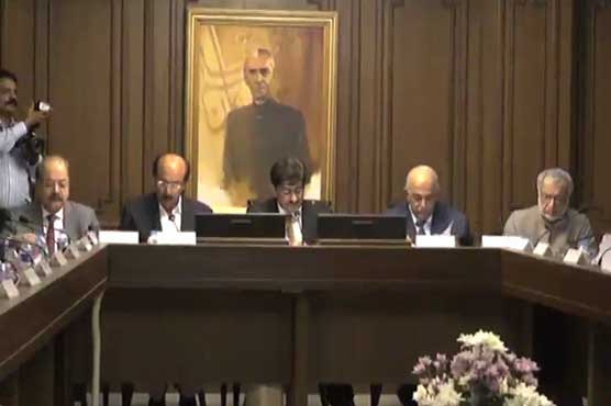 CM Sindh chairs cabinet meeting to discuss law and order situation in Karachi
