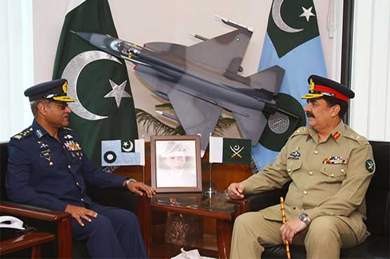 General Raheel Sharif pays farewell visit to Air Headquarters