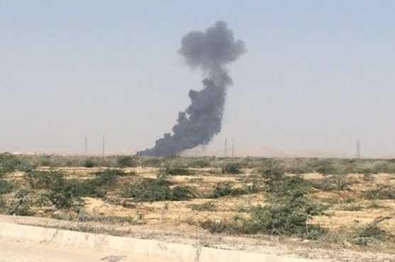 PAF Mirage aircraft crashes in Karachi, pilot killed