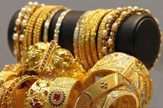 Gold price rises to 51700 per tola