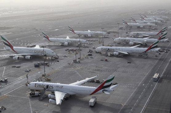 Drone halts traffic at Dubai airport