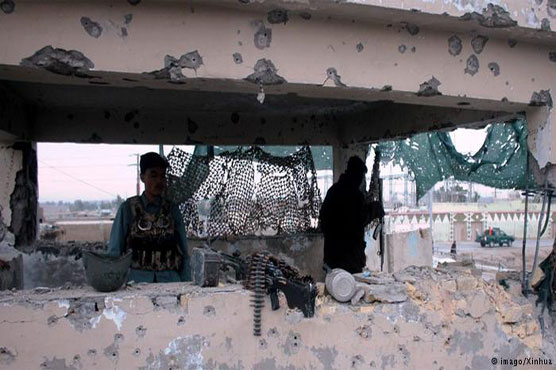 Taliban storm into southern Afghan city