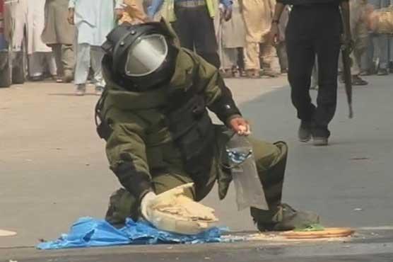 Disaster averted: 3-kg bomb defused near flyover in Peshawar
