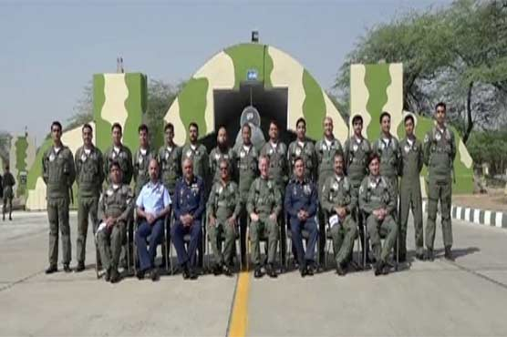 No 9 squadrons of PAF, British Royal Air Force declared twins