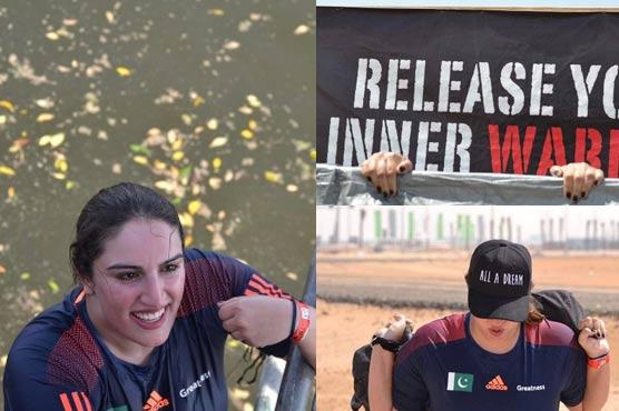 Bakhtawar Bhutto posts photos of #DesertWarriorChallenge