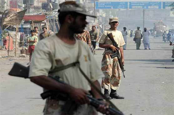 Rangers, Sindh govt exchange letters on extension of powers