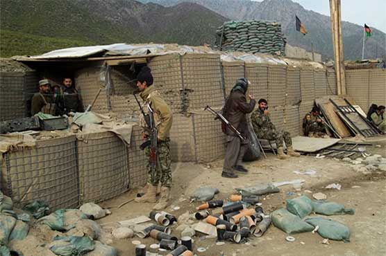 Over 100 killed, wounded in Taliban attack on Afghan military base: govt