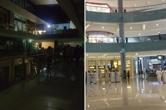 Power outage in #DubaiMall leaves visitors in dark