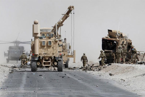 Taliban suicide bomber kills two US troops in south Afghanistan