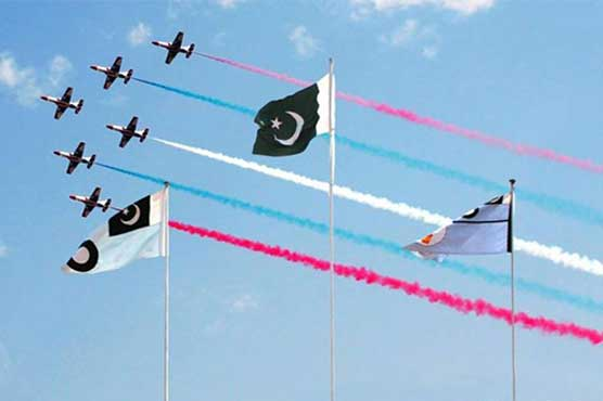 Air show by PAF imprints artistry on Independence Day