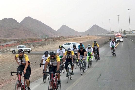 British-Muslims cycle to Saudi for annual Hajj pilgrimage