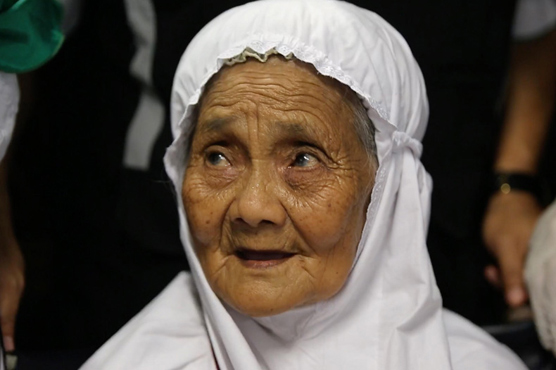 104-year-old woman arrives in Jeddah to perform Hajj