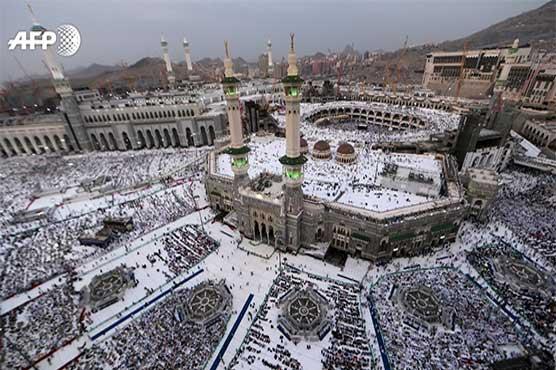 180,000 Pakistanis along with two million pilgrims begin Hajj rituals