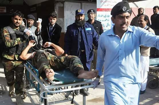 Nine dead, 38 injured as terrorists attack Peshawar's Agriculture Directorate
