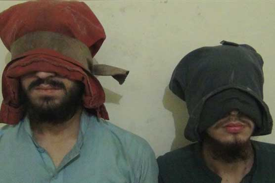 Two alleged terrorists arrested in Peshawar, explosives recovered