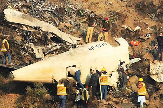 First anniversary of Havelian plane crash being observed today