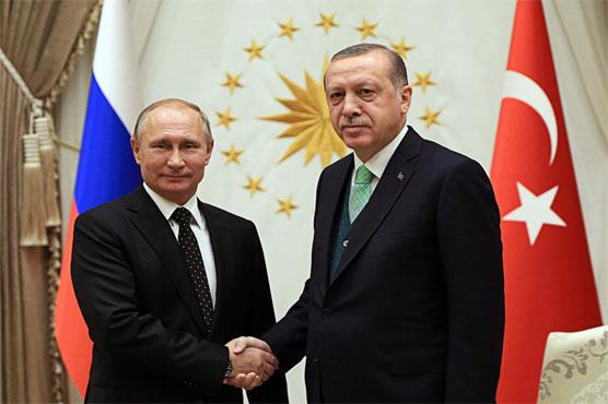 Erdogan, Putin warn of further tension over US Jerusalem move