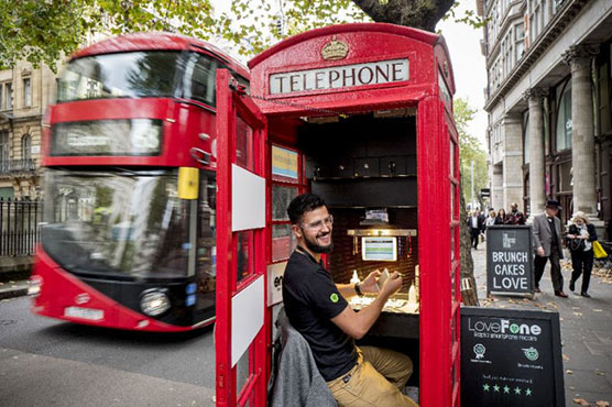 Britain's iconic red phone boxes ring the changes