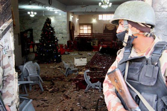 In pictures: Quetta church attack