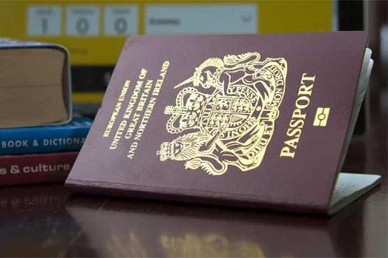 UK passports to change from burgundy to blue after Brexit