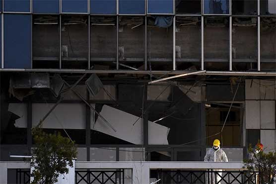 Bomb explodes outside Greek court, no casualties: police