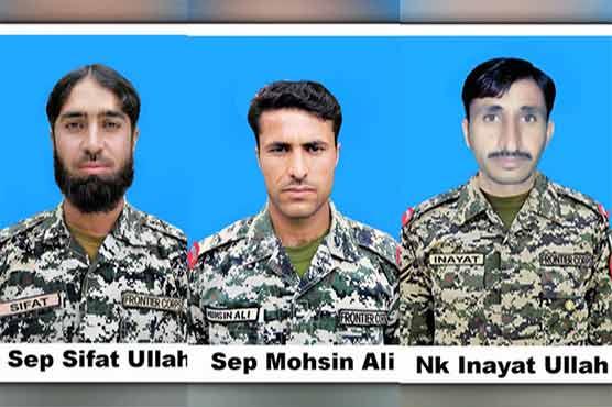 Three FC personnel dead in North Waziristan IED blast
