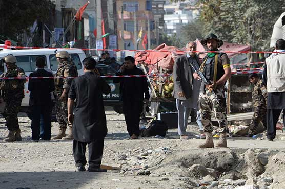 Six dead in suicide attack near Afghan spy agency: officials