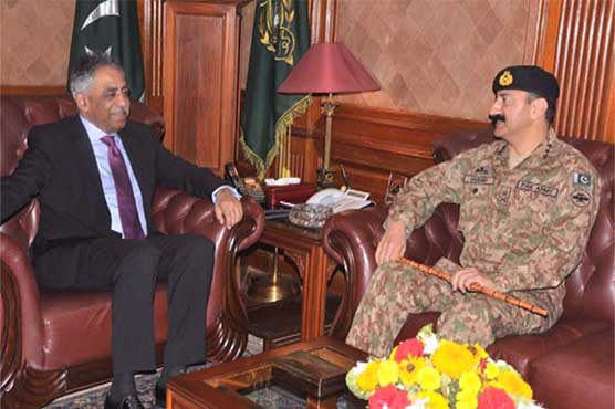 Sindh Governor, Corps Commander vow take Karachi operation to logical end