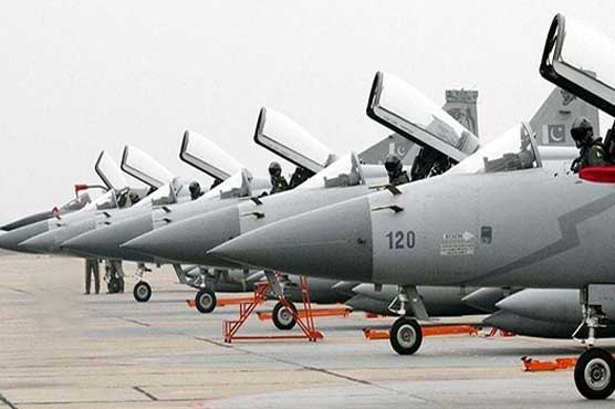 JF-17 thunder jets inducted in Pakistan Air Force