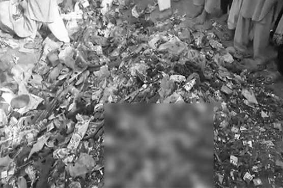 Remains of Lal Shahbaz Qalandar shrine blast victims thrown into garbage
